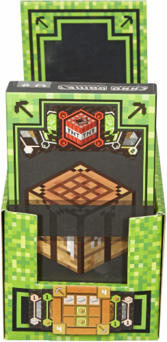 Mattel Minecraft Card Game Perspective: front