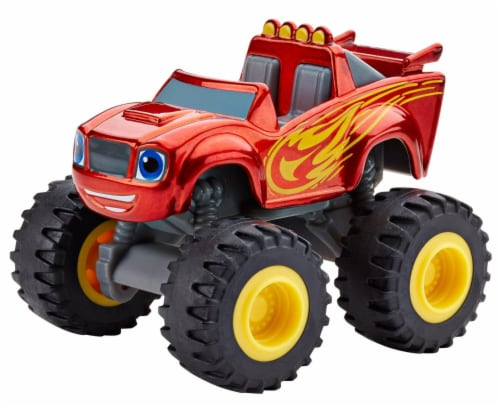 Fisher-Price® Nickelodeon Blaze and The Monster Machines Metallic Blaze Vehicle Toy Perspective: front