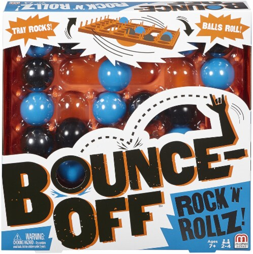 Mattel Bounce-Off™ Rock 'n' Rollz Game Perspective: front