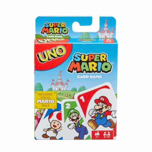 Mattel UNO Super Mario Card Game Perspective: front