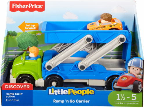 Fisher-Price® Little People® Ramp 'n Go Carrier Perspective: front