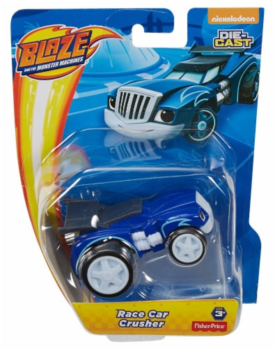 Fisher-Price Nickelodeon Blaze and The Monster Machines Race Car Crusher Perspective: front