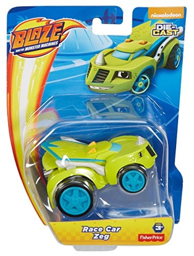 Fisher-Price® Nickelodeon Blaze & the Monster Machines Zeg Race Car Toy Perspective: front