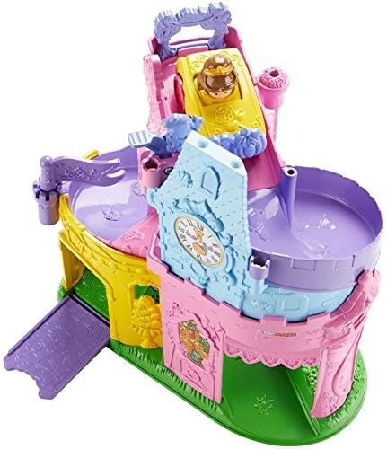Fisher-Price Little People Disney Princess Wheelies Playset Doll Perspective: front