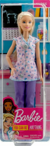Mattel Barbie® Nurse Doll Perspective: front