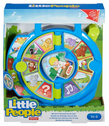 Fisher-Price® Little People World of Animals See N' Say Toy Perspective: front