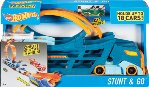 Mattel Hot Wheels® Stunt and Go Truck Perspective: front