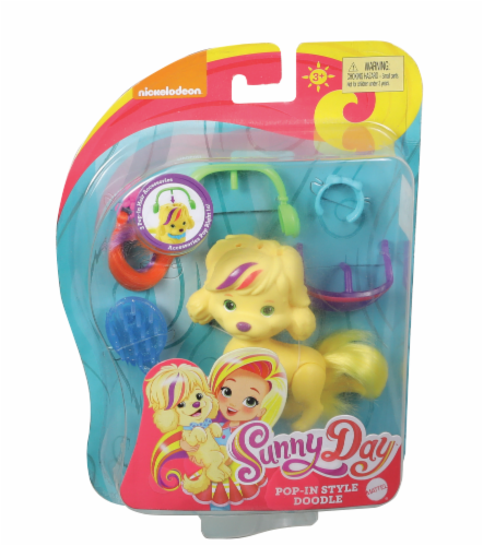 Fisher-Price® Nickelodeon Sunny Day™ Pop-In Style Doodle The Dog Perspective: front