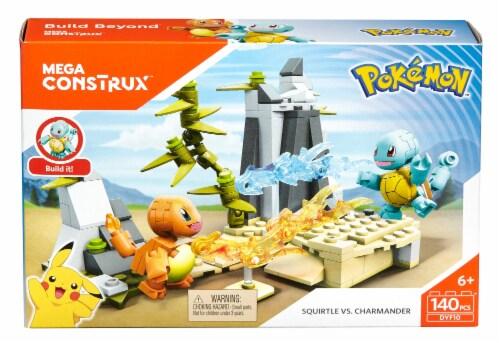 Mega Construx™ Pokemon™ Squirtle vs. Charmander Battle Pack Perspective: front