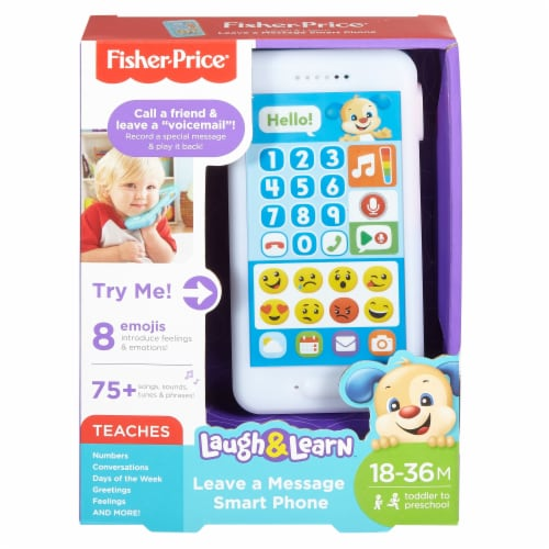 Fisher-Price® Laugh & Learn Leave a Message Smart Phone Perspective: front