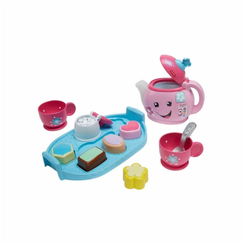 Fisher-Price Laugh & Learn Sweet Manners Tea Set Perspective: front