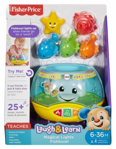 Fisher-Price Laugh & Learn Magical Lights Fishbowl Perspective: front