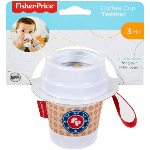 Fisher-Price® Coffee Cup Teether Perspective: front