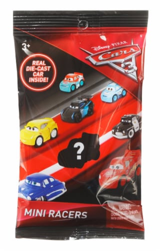 Mattel Disney Pixar Cars 3 Mini Racers Perspective: front