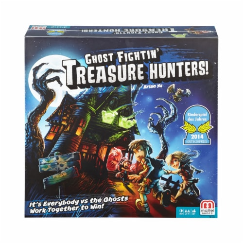 Mattel Ghost Fightin Treasure Hunters Board Game Perspective: front