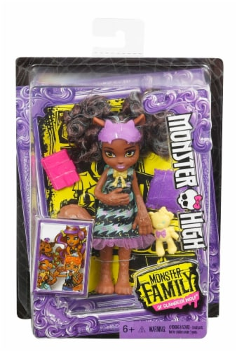 Mattel Monster High Monster Family Doll - Assorted Perspective: front