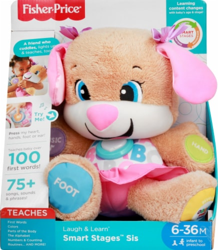 Fisher-Price® Laugh and Learn Smart Stages Sis Educational Toy Perspective: front