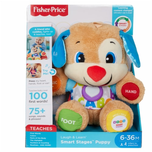 Fisher-Price® Laugh & Learn Smart Stages Puppy Perspective: front