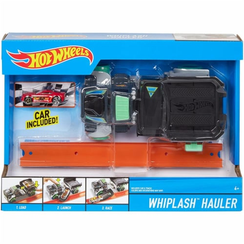 Hot Wheels WHIPLASH Hauler Vehicle Perspective: front