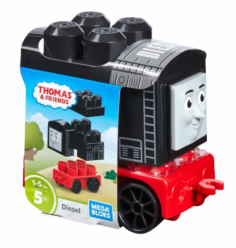 Mega Bloks® Buildable Train Engine Toy - Assorted Perspective: front