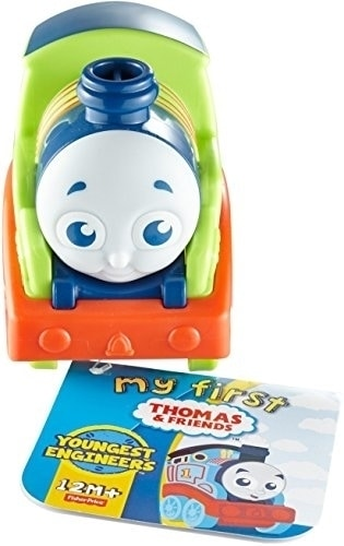 Fisher-Price My First Thomas & Friends Push Along Percy Train Perspective: front