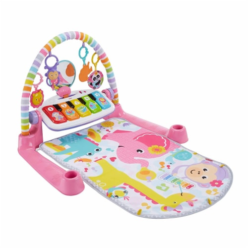 Fisher-Price® Kick & Play Piano Baby Playset Perspective: front