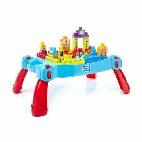 Fisher-Price® First Builders® Build n Learn Table Perspective: front