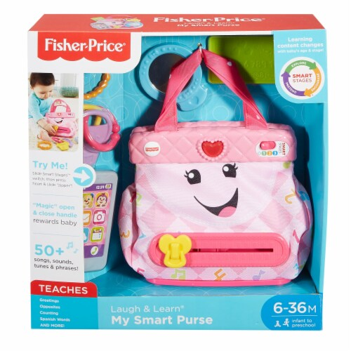 Fisher-Price® Laugh and Learn My Pretty Little Learning Purse Toy Perspective: front