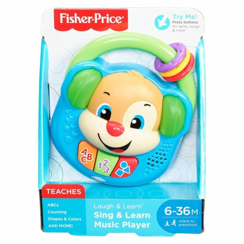 Fisher-Price® Laugh & Learn Sing & Learn Music Player Perspective: front