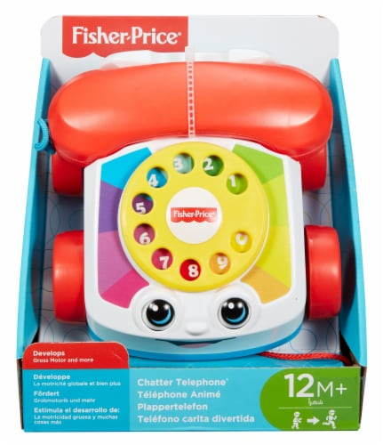 Fisher-Price® Chatter Telephone® Perspective: front