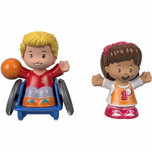 Fisher-Price® Little People Josh & Mia Figures Perspective: front