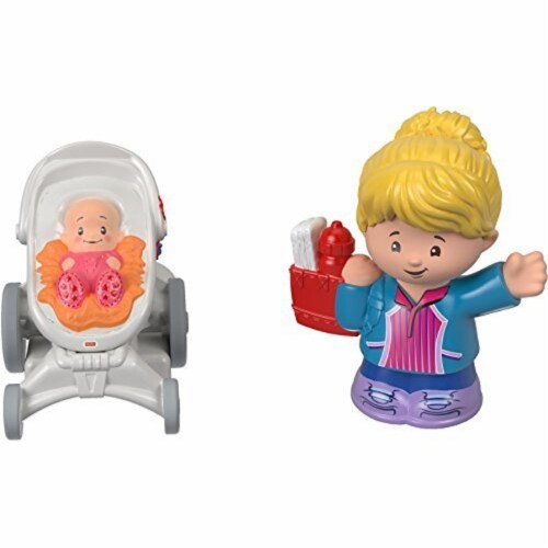 Fisher-Price® Little People - Mom & Baby Figures Perspective: front