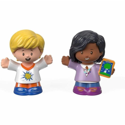 Fisher-Price® Little People School Children Boy and Girl Figures Perspective: front