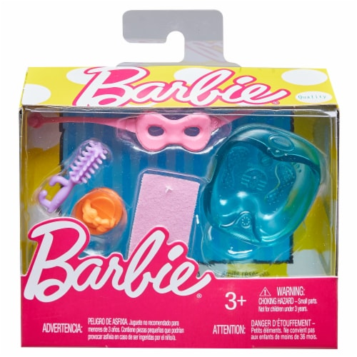 Mattel Barbie® Spa Accesories - 5 Piece Perspective: front