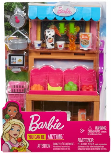 Mattel Barbie® Grocery Playset Perspective: front