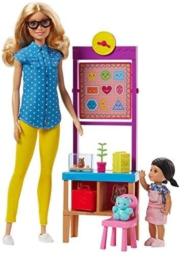 Mattel Barbie® Careers Teacher Doll Playset - Blond Perspective: front