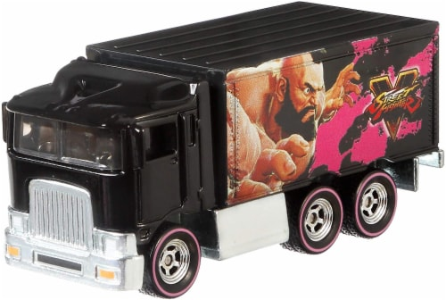 Mattel Hot Wheels® Pop Culture Highway Hauler Car Perspective: front