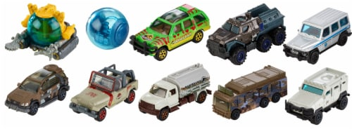 Mattel Matchbox® Jurassic World Diecast Collection Perspective: front