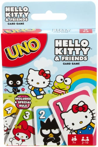 Uno Hello Kitty Card Game Perspective: front