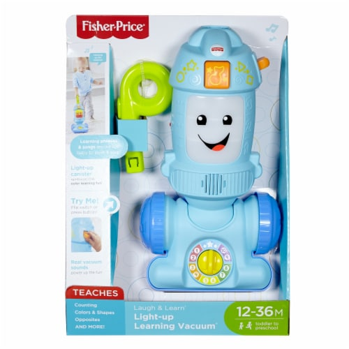 Fisher-Price® Laugh and Learn® Light-Up Learning Vacuum Perspective: front
