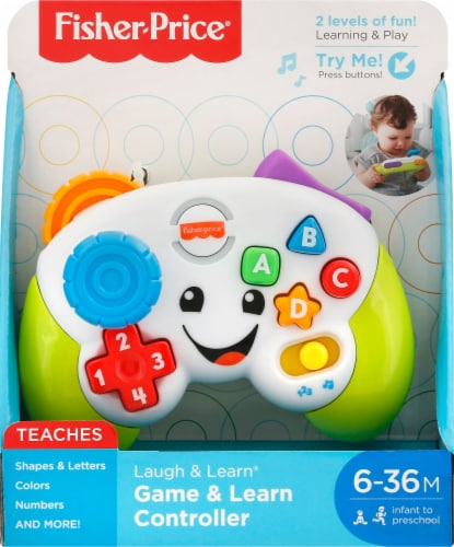 Fisher-Price® Laugh & Learn Game & Learn Controller Perspective: front