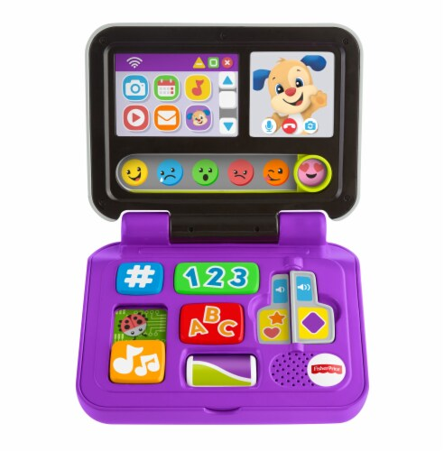 Fisher-Price® Click and Learn Laptop Perspective: front