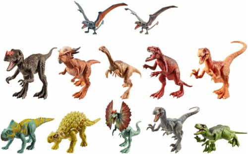 Mattel Jurassic World Attack Dinosaur Pack - Assorted Perspective: front