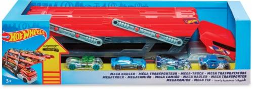 Mattel Hot Wheels® Mega Hauler Toy Set Perspective: front