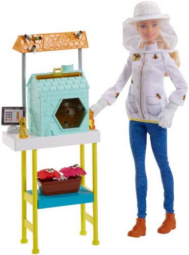 Mattel Barbie® Beekeeper Playset Perspective: front
