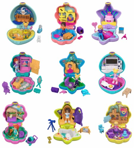 Mattel Polly Pocket Tiny Pocket Places Playset Perspective: front
