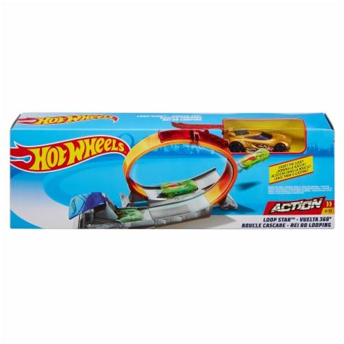 Mattel Hot Wheels® Loop Star Play Set Perspective: front