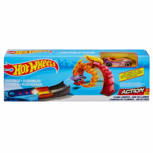 Mattel Hot Wheels® Flame Jumper Play Set Perspective: front