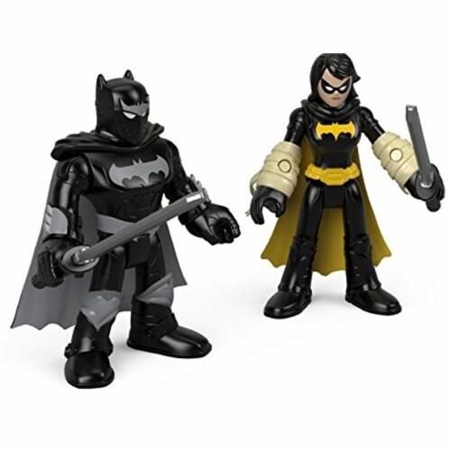 Fisher-Price® Imaginext DC Super Friends Black Bat & Ninja Batman Perspective: front