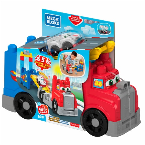 Mega Bloks® Build and Race Rig Perspective: front
